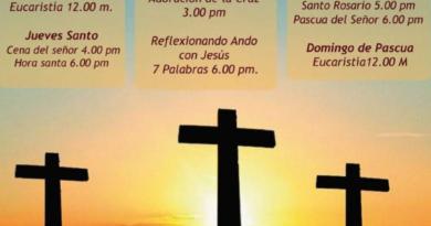 La Semana Santa, por Facebook y por televisión