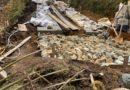 Por daño ambiental, sellan y cierran lote en Santa Elena